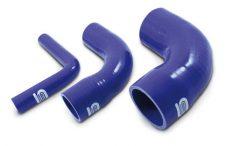 R80-70 Elbow silicone reducer 90deg 80mm-70mm-0