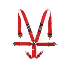 "GP-AR201-RR 6PTS 3""/3"" HARNESS PRO HANS RED-0"