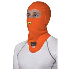 Open face balaclava Orange-0