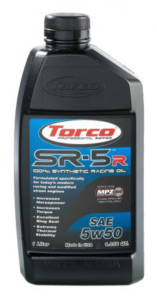 TORCO SR-5R MPZ Synthetic RACING OIL 5W50 1LT-0