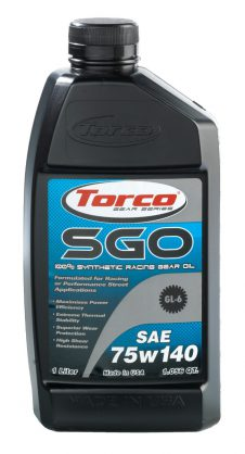 TORCO SGO SYN GEAR OIL 75W140 GL6 1LT-0