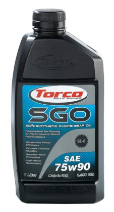 TORCO SGO SYN GEAR OIL 75W90 GL6 1LT-0