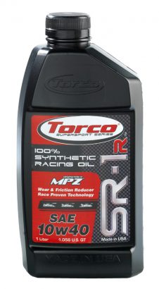 TORCO SR-1R MPZ 10W40 1LT SYNTHETIC RACING 1LT-0